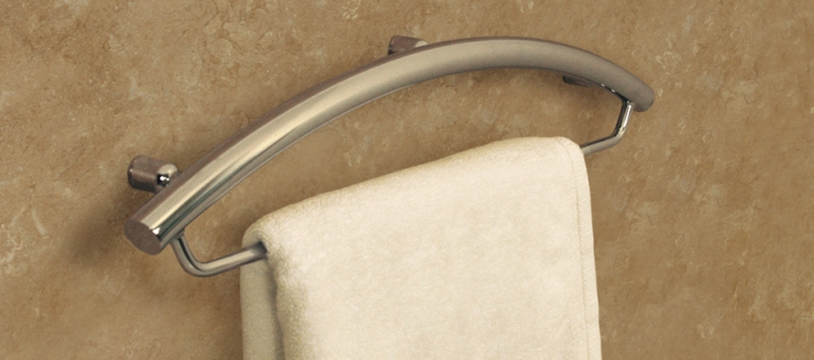 Bathroom safety products that are designed for a stylish home.